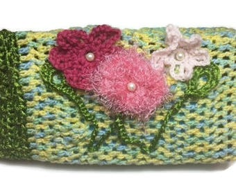 Impatiens Crochet Hook and Notions Clutch