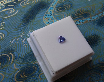 Loose  Approximately.35ct minimum 5x5mm Triangle/Trillion Tanzanite
