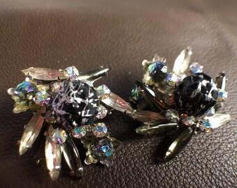 Judy Lee Vintage Clip Earrings