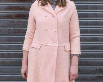 Vintage Light Pink Winter Coat