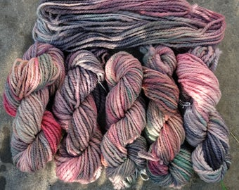 handspun art yarn for crocheting knitting weaving
