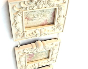 on sale shabby chic resin frames collage shabby chic picture frameshanging photo frames shabby chic decor home decor vintage decorresi