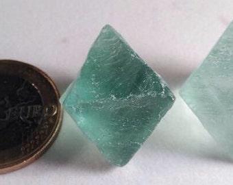 Fluorite octahedron Green