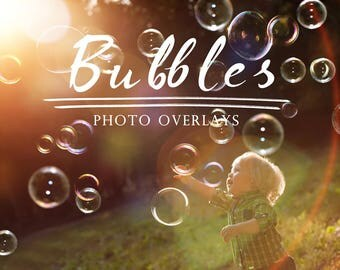 55 Bubbles Photoshop Overlays, summer overlays, photoshop overlay, bubble overlay