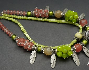 """Necklace """"Spring on!"""""""