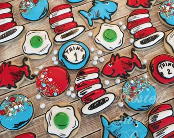 2 doz Dr Seuss Cookies