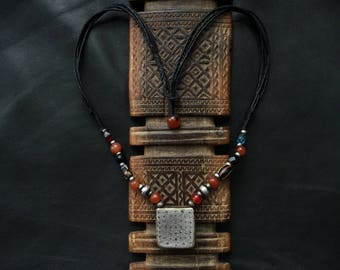 KITAB NECKLACE,Berber kitab,Berber hijab,ethnic jewelry,African jewellery,Berber talisman,Berber amulet