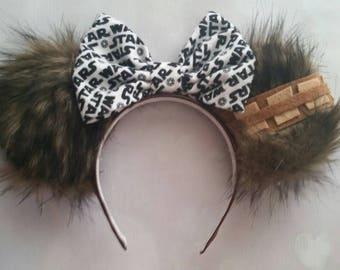 Chewbacca inspired Mickey ears