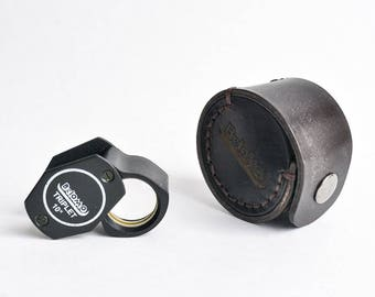 Leather Case for Triplet Loupe Magnifier