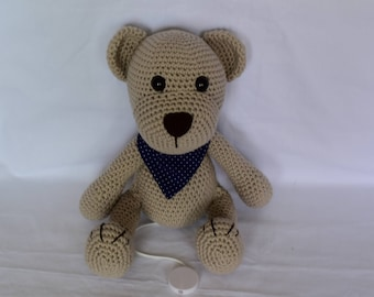 Musical Teddy bear cotton
