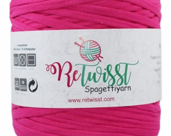 Retwisst T-shirt Fabric Yarn 120M Cotton Yarn Knitting Crochet Crocheting TY24