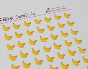 Banana Planner Stickers