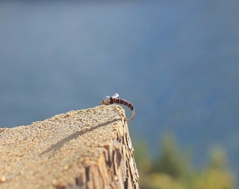 Fly Fishing Flies - The THRILLER Midge - size 14 - Shenandoah Fly Company