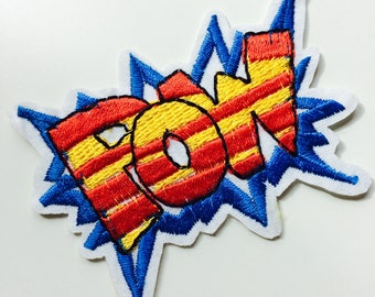 Pow | Roller Derby | Comic | Comic Book | Patch | Cute | Hipster | Trendy | Emo | DIY | Fashion | Retro