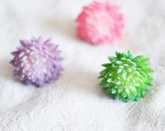 Artificial Succulent,Faux succulent,Artificial Sedum multiceps,plastic succulent,succulents,Faux succulents,Pink Purple Green Succulents