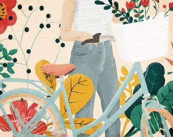 Bike Ride – fine art print