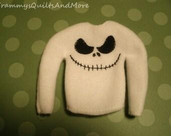 Elf skeleton sweater