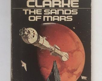 Sands of Mars, Science Fiction Novel, Arthur C Clarke, Vintage Paperback Book, First Signet Printing, Vintage Sci Fi Book