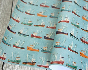 Fishing Trawler - Wrapping Paper / Gift Wrap