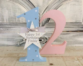 1st birthday gift 2nd birthday gift 3rd birthday gift birthday wooden gift personalised