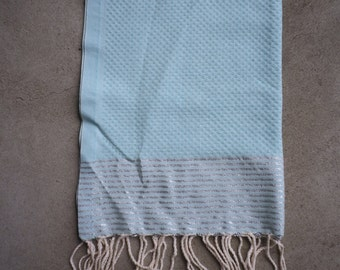 Light Blue Hand Towel