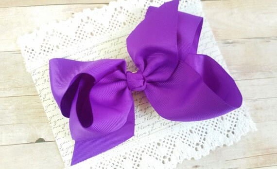 Large Bows, Purple Large Bow, Baby Headband Bow,Large Hairbows, Hair Bow Clips, Newborn Hair Bows, Large Bows For Babies, Cute Bows,