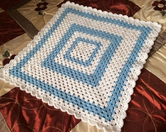 BABY BLANKET ready to ship FREEPOST