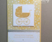Handmade New Baby Card...