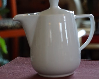 Small Vintage Melitta Coffee Pot/ White Coffee Pot/ Made in Germany