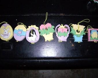 43 pc. Hallmark Easter Decorations