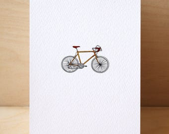 1# Retro Bicycle Card