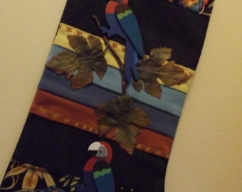 """The """"Parrot"""" stocking"""