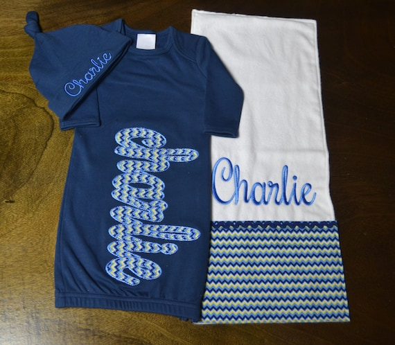 Personalized Baby Boy Outfit Baby Boy Clothes Baby Boy