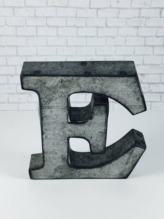 metal letter wall art on metal letters wall decor galvanized metal 13994 | il 570xN.1250159715 6f72
