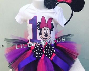 Handmade Minnie Mouse Tutu Set