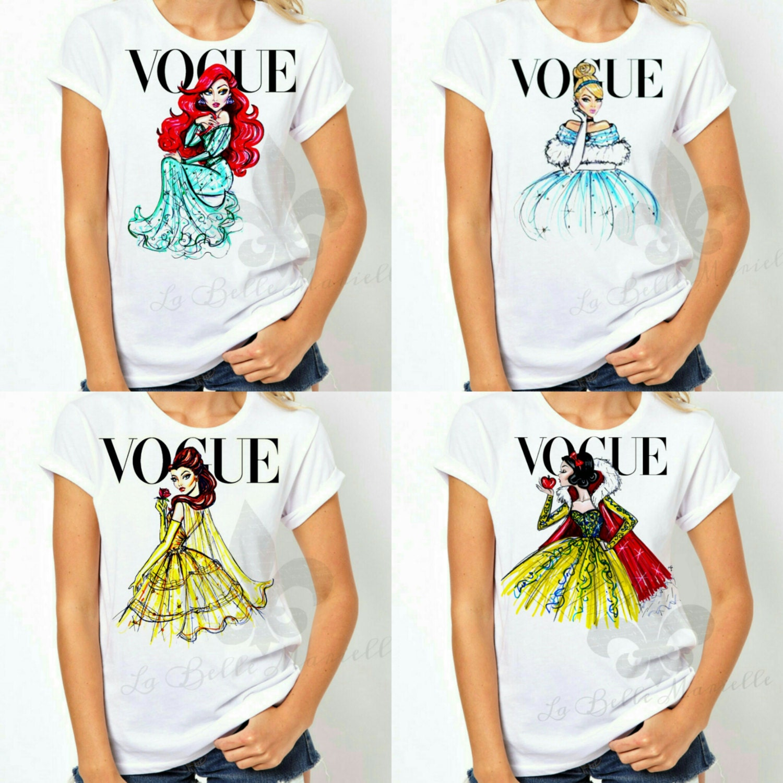 women 39 s disney vogue princess shirt ladie 39 s vogue. Black Bedroom Furniture Sets. Home Design Ideas