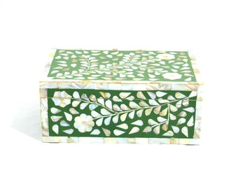 Mother of pearl Herritage V2M Green Box