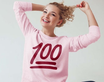 100 Emoji Tshirt and Sweater Unisex Fit
