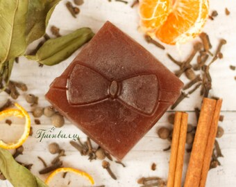 """Natural warming SOAP """"mulled wine"""""""