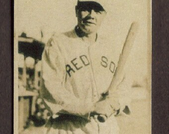 BABE RUTH Card RP #46 Red Sox Yankees 1921 Frederick Free Shipping