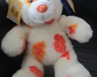 Build-A-Bear Workshop Seasons Of Hugs Autumn Hugs Bear with Collectibear Pin