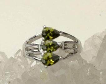 Peridot Ring Size 6 1/2