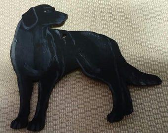 Labrador retriever dog ornament custom