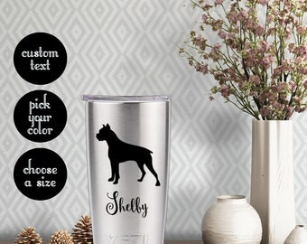 Pitbull Decal with customizeable name text