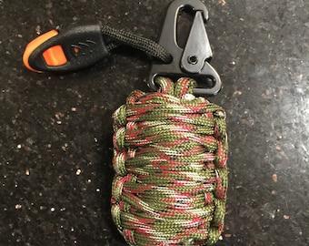 550 cord survival grenade, survival paracord grenade