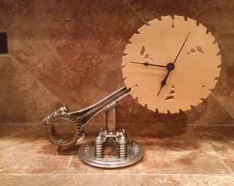 Custom Saw Blade Clock