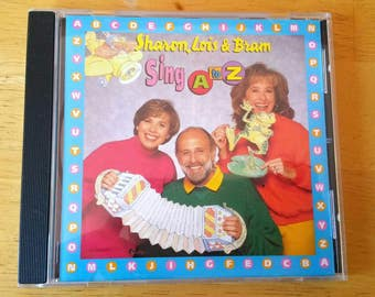 Sharon, Lois and Bram Sing A to Z Songs CD, Elephant Records, Made in Canada, Skinnamarink