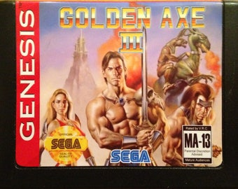 Golden Axe III - SEGA Genesis Reproduction