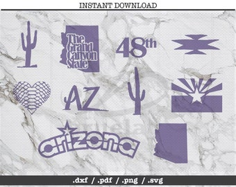Arizona State Svg Etsy