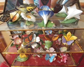 Vintage Franklin Mint Butterfly Collection